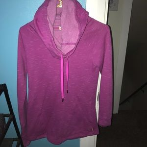 pink/purple hoodie